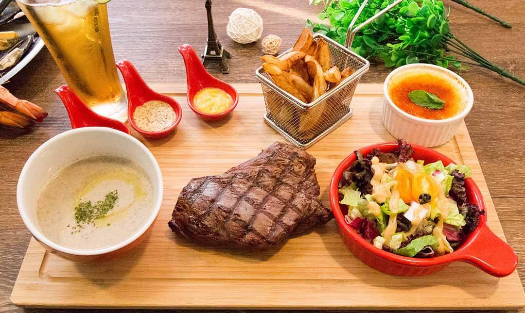 O'steak 歐牛排法餐廳-現場 1200 元折抵