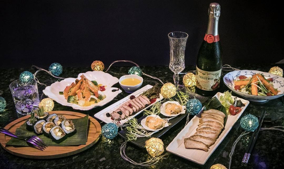 小娘惹餐酒吧-[雙人] 耶誕套餐贈香檳