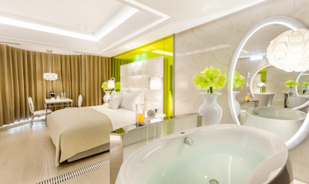 六星 桃園館 ( 原六星旅館 )-火星 琥珀金浴缸房 3h