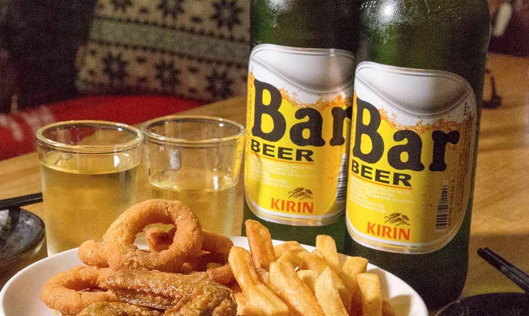 酌燒串燒酒食-Bar 啤酒 2 瓶|深夜飛鏢食堂