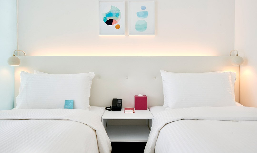 泡泡飯店 客房-泡泡雙床房