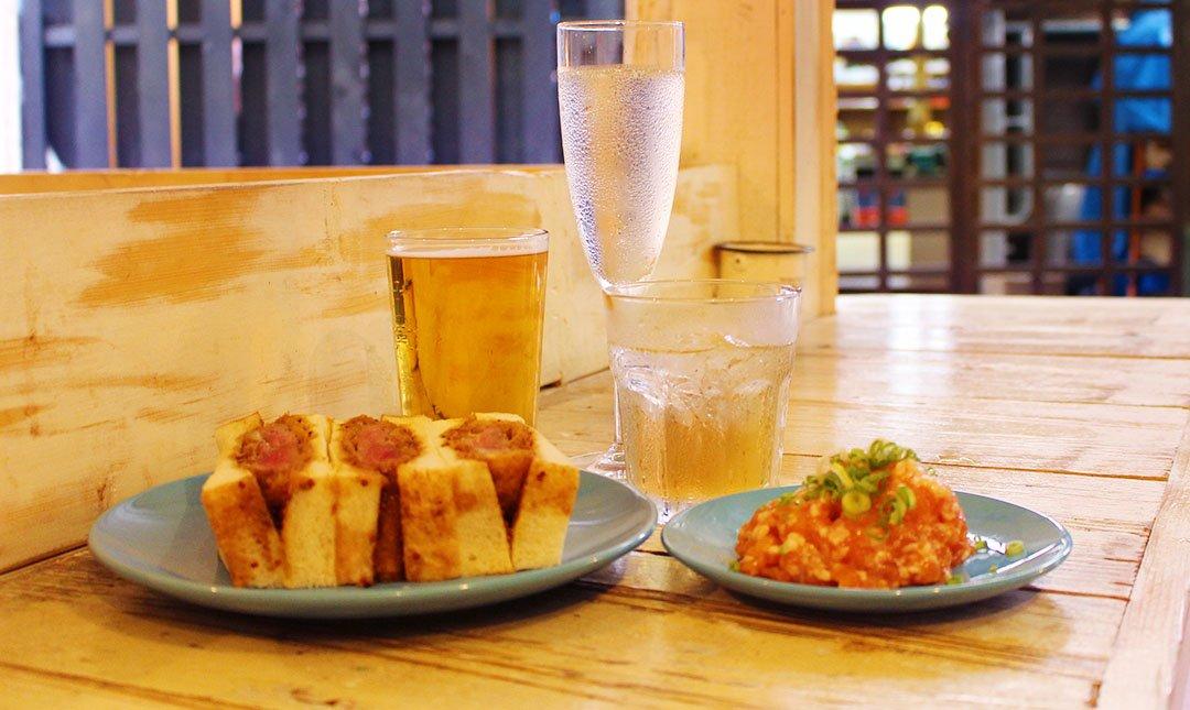 Sinada-微醺套餐|三杯酒 + 炸豬排三明治 + 小菜