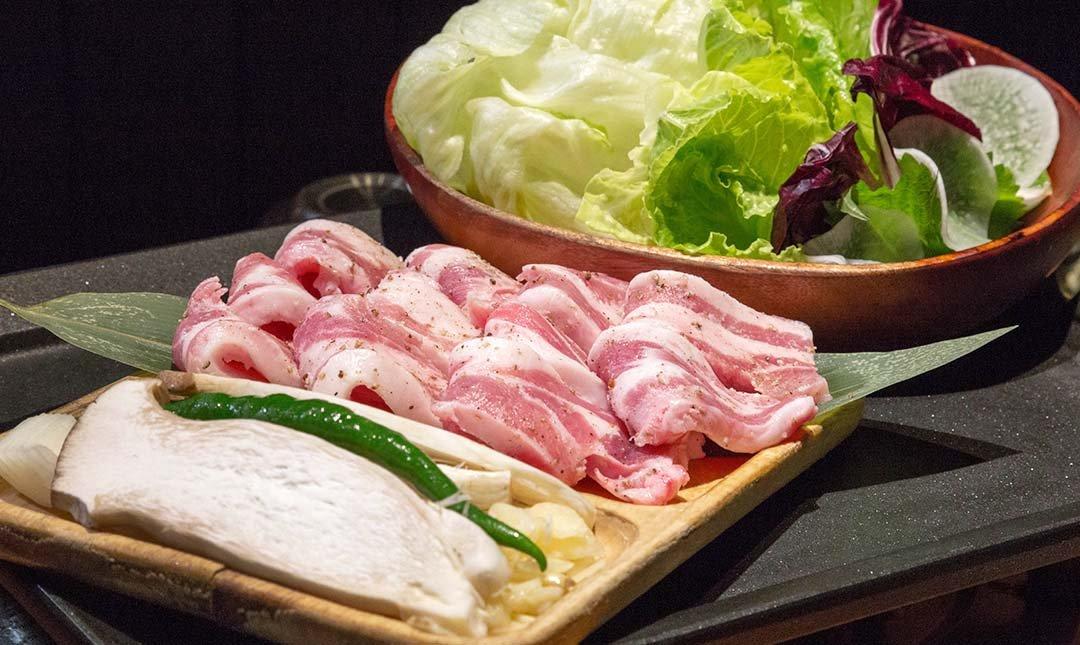 娘子韓食市民店 忠孝敦化站-伊比利豬肉套餐