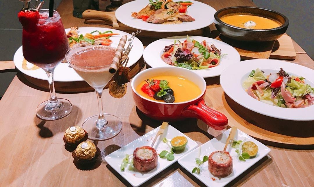 熊武吉餐酒館-豪華西式料理|戀情雙人套餐