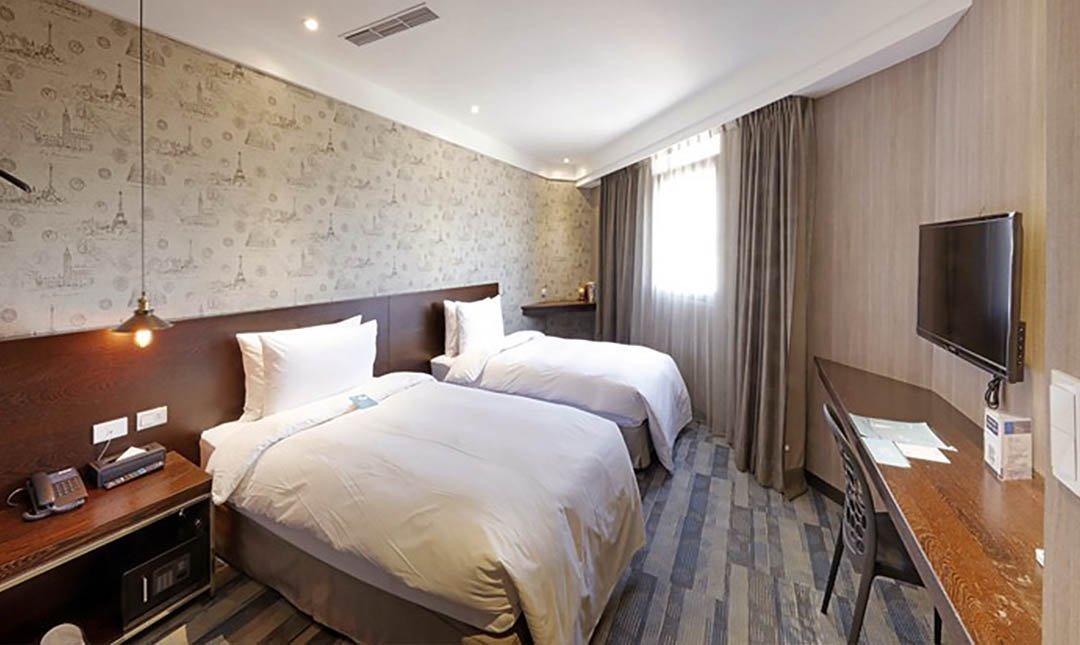 康瀚行旅-旅順客房 | 兩小床