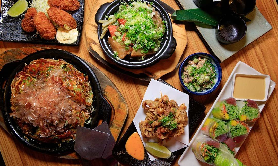 鐵匠 鐵板居酒屋-廣島燒與燒酒的雙人滿足餐
