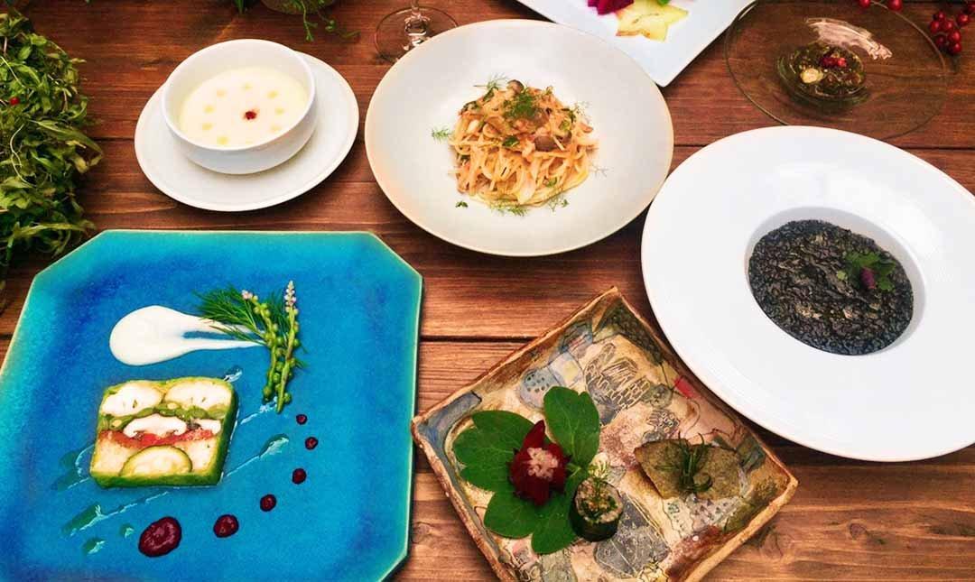 浮島花園-法式 Nirai 七道套餐