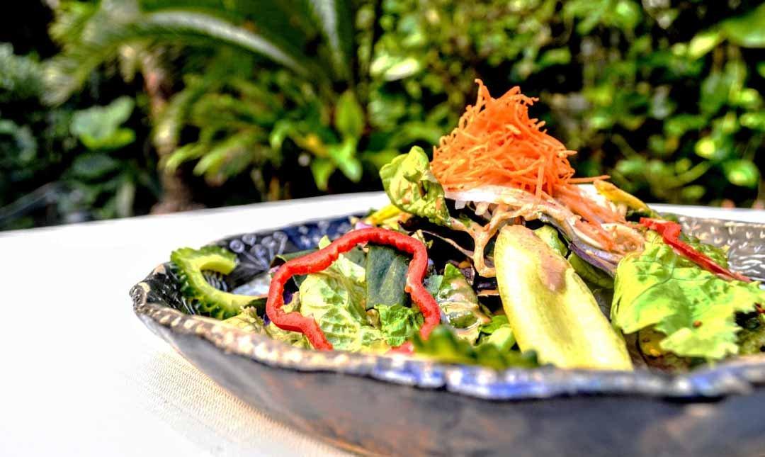 浮島花園-花園特製素食晚餐