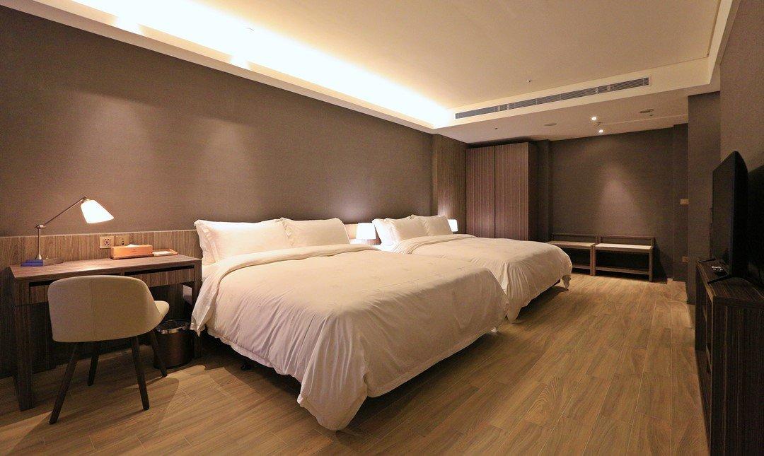 村却國際溫泉酒店-家庭客房 x 雙浴池獨立小陽台