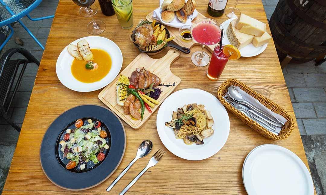 Plan B 歐陸街頭市集小酒館-雙人共享餐|歐式街頭風情