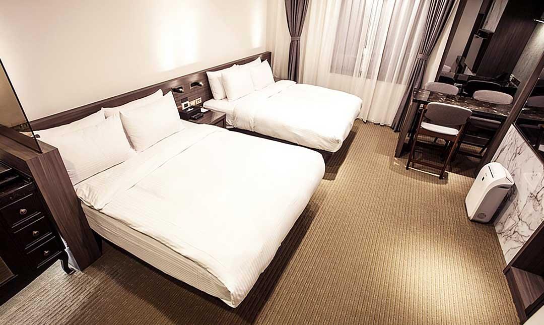 夢樓旅店-高級四人房|老上海的奢華氣派