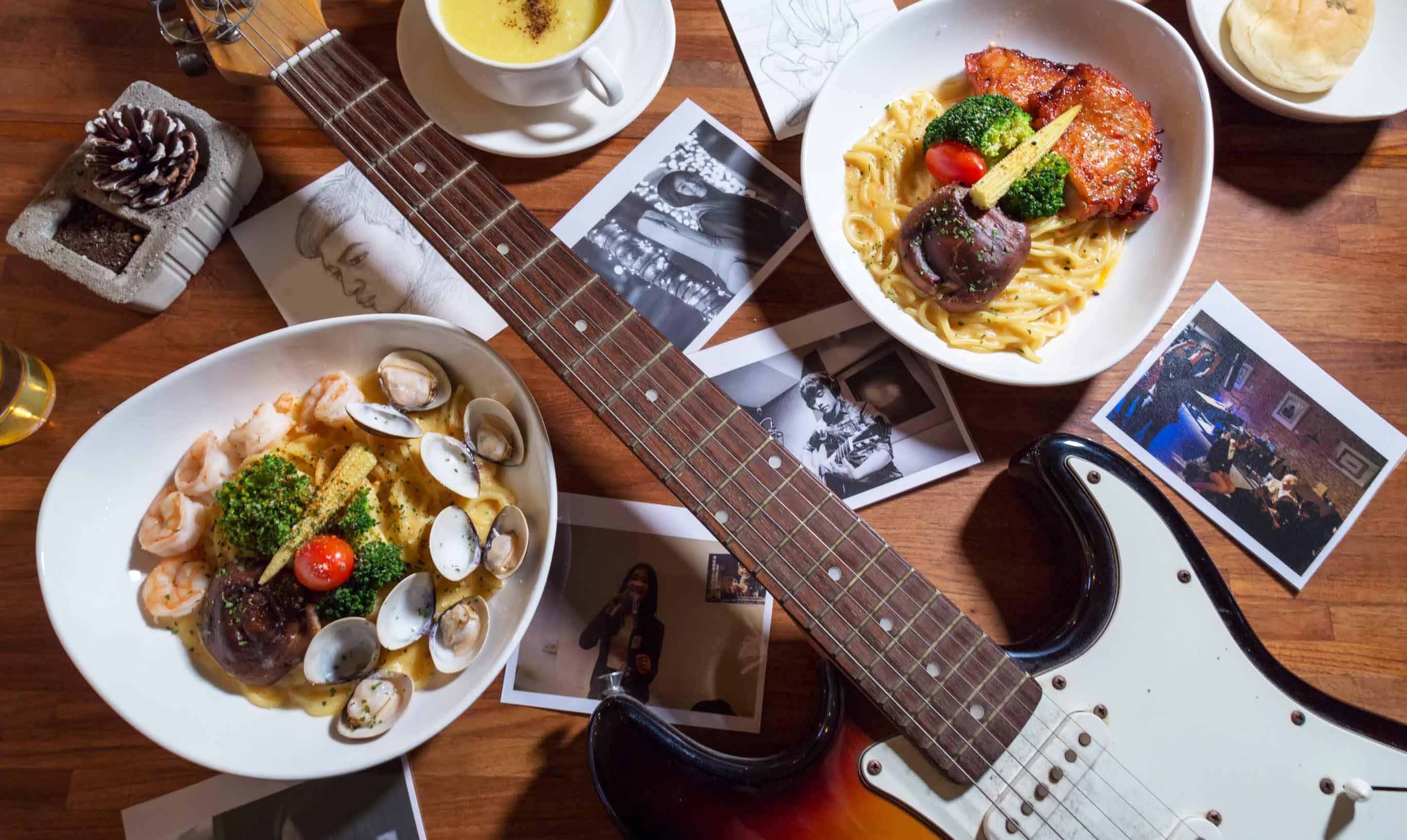 紅磚音樂餐廳-現場 400 元折抵|享受屬於你的夜