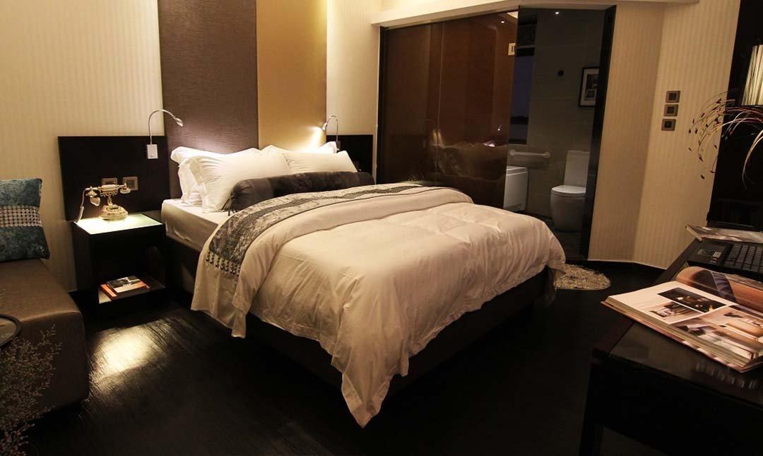 陶興酒店 The Ten Hotel-豪華大床房 3h