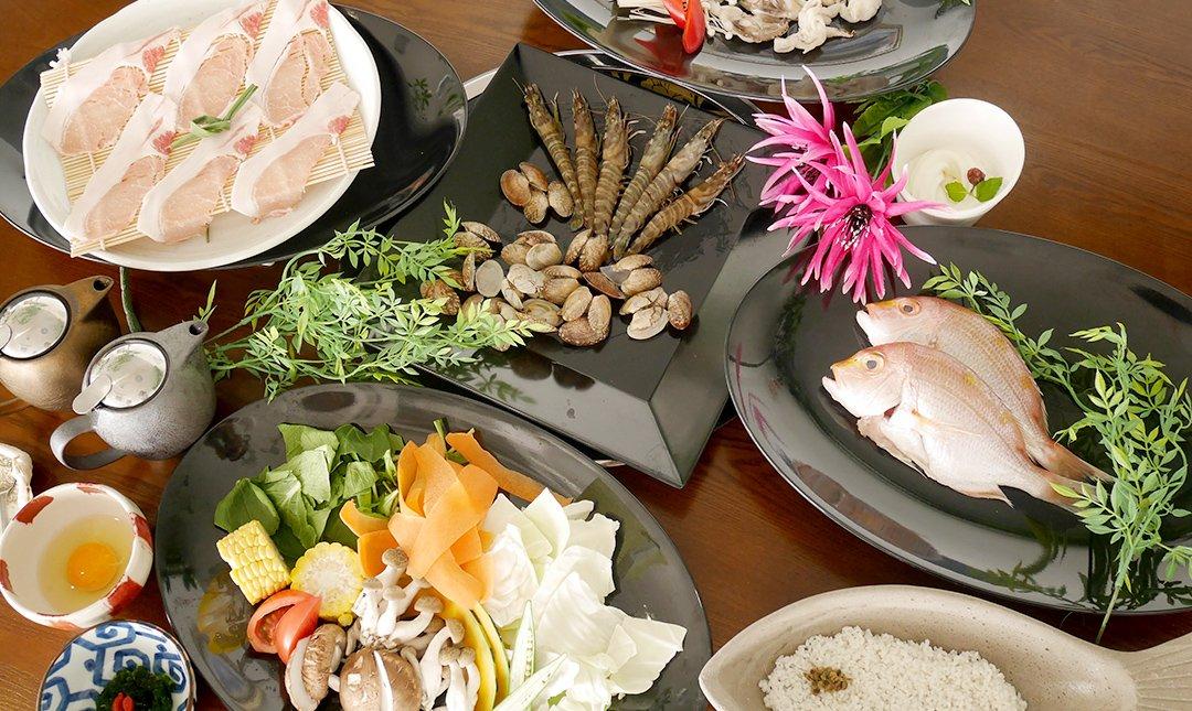 北谷蒸氣海鮮-明星海鮮套餐 | 2 人份