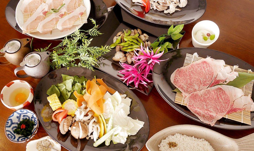 北谷蒸氣海鮮-琉球和牛套餐 | 2 人份
