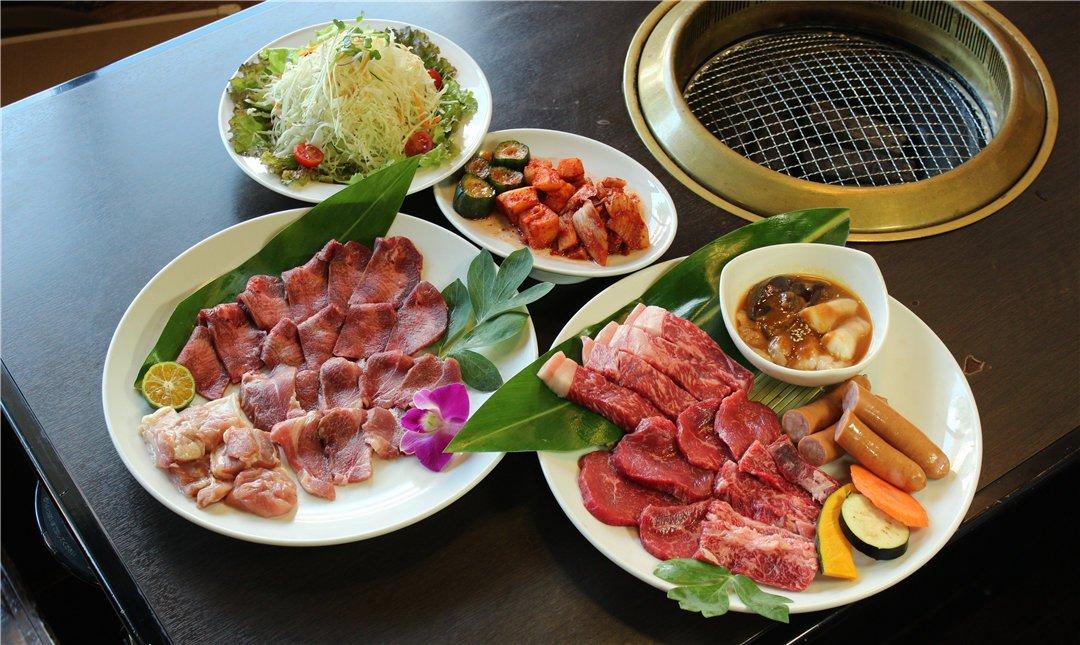 燒肉金城本店-石垣牛燒肉 | 特選盛餐 3~4人