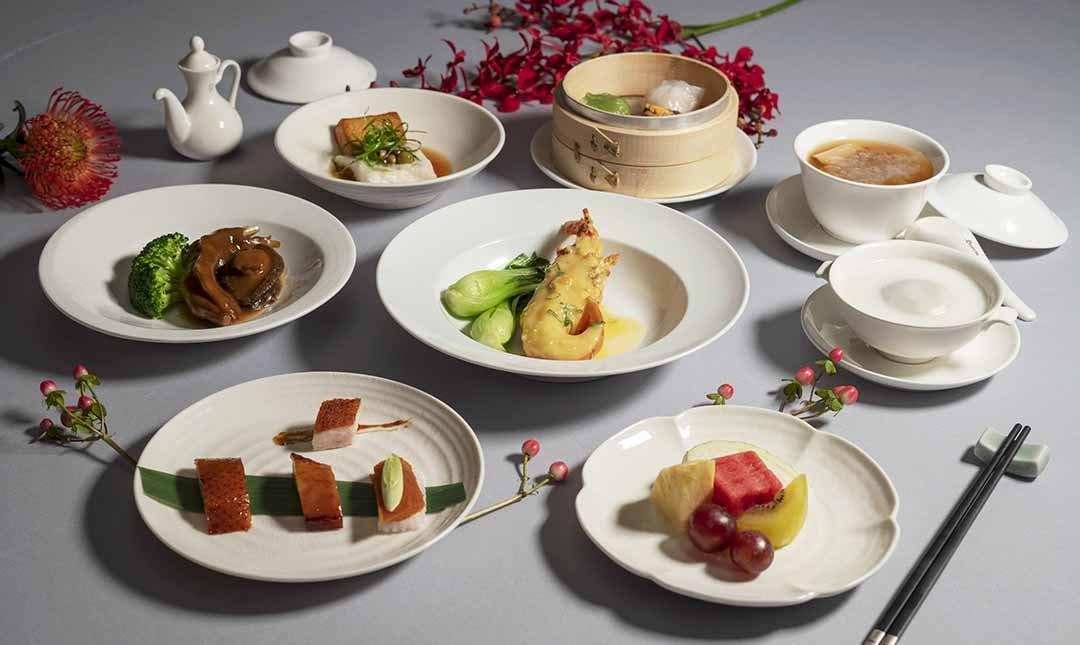 米其林餐盤 | 台北喜來登 辰園-典雅驚豔 | 雙人晚間料理