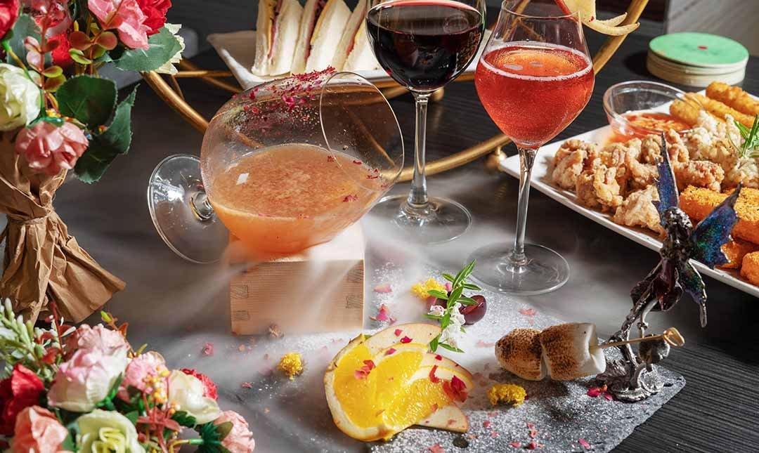 Elfin Restaurant & Lounge 精靈餐酒館-380 元調酒任選 2 杯|夢幻花牆風