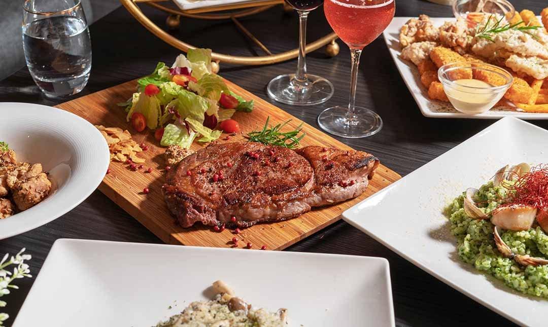 Elfin Restaurant & Lounge 精靈餐酒館-精選雙人套餐|夢幻花牆風