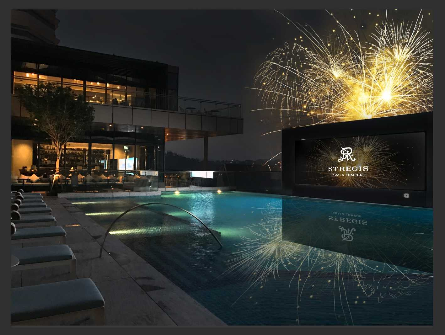 The St. Regis Kuala Lumpur-SOLD OUT | 1 Person | NYE Party with 1 Drink @ Crystal & Pool Side