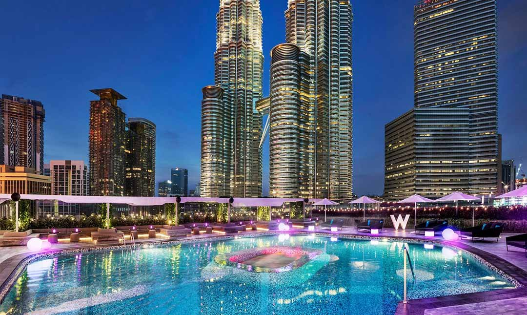 WET Deck at W Kuala Lumpur-SOLD OUT - [1 Table for 4] Pool party with 7 drinks