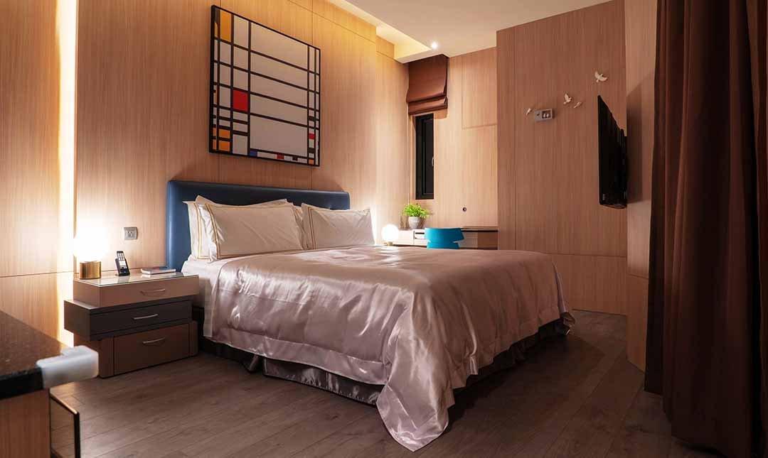 三重江月 villa 行館-豪華商務客房 12h|享免費停車
