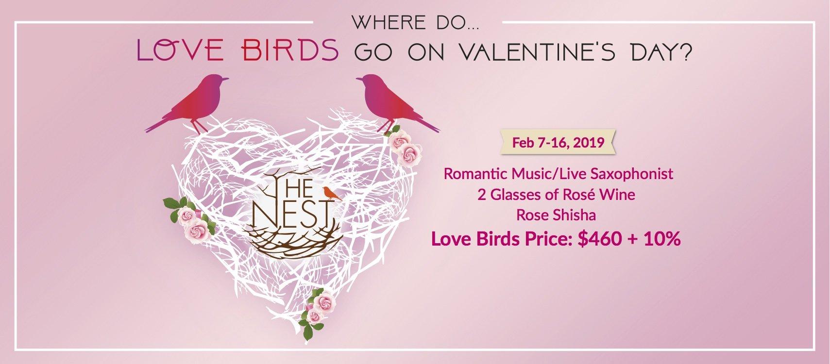 The Nest-情人節雙人套餐