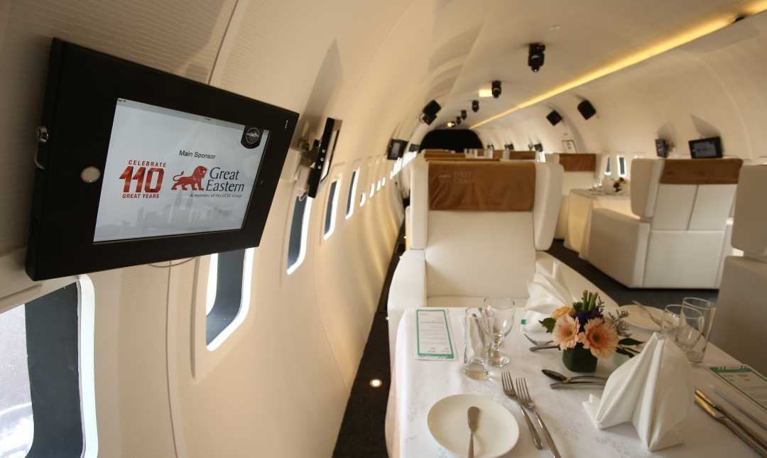 Plane In The City-2 Pax | 4-Course Valentine's Day Set Menu