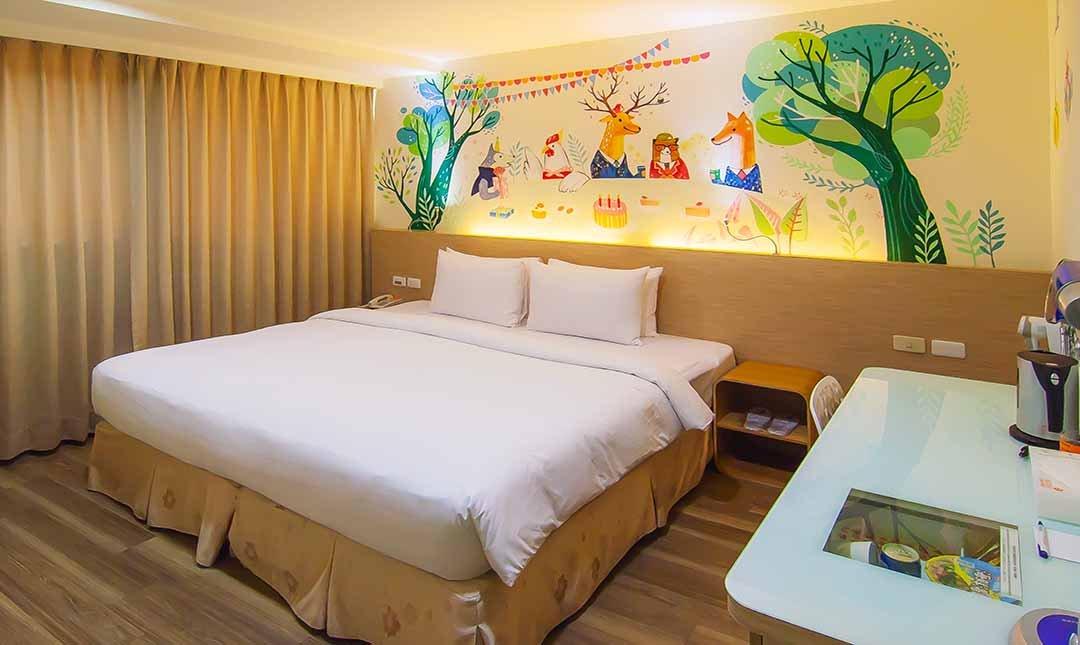 秝芯旅店六合館-秝芯特大床房〡浴缸