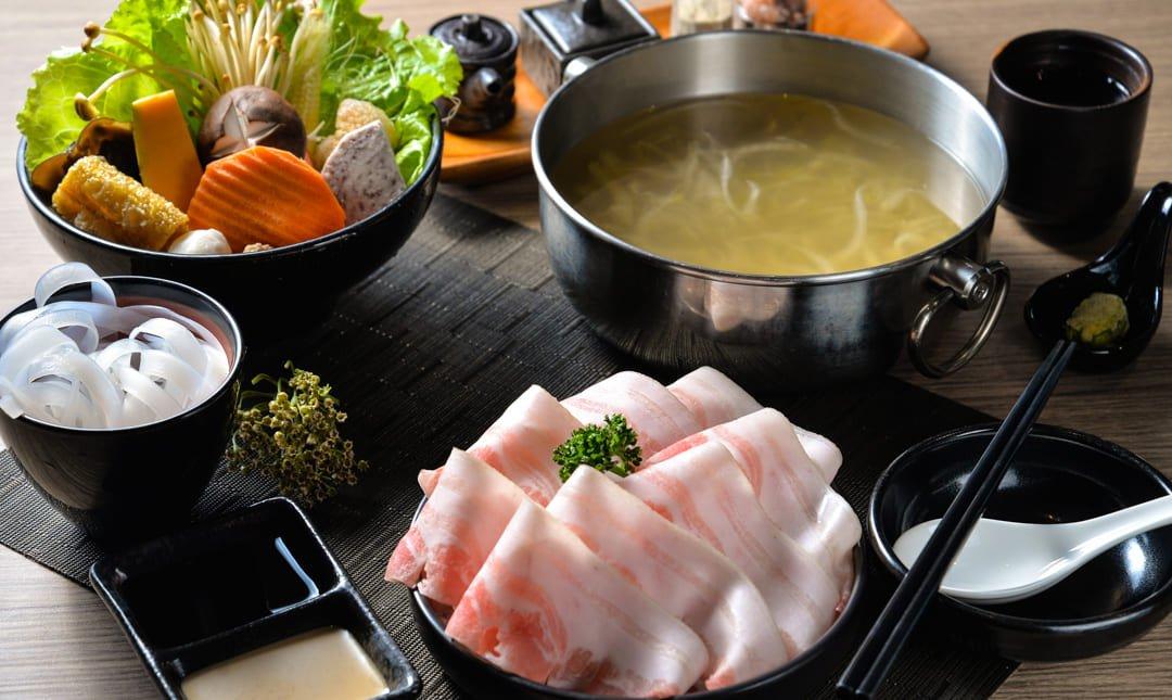 王鍋屋-商業午餐|經典帶皮黑毛豬五花