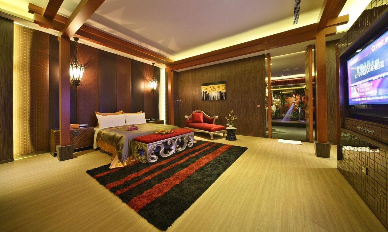 Mulan Villa Spa Motel Taichung-KTV Deluxe Suite 3h