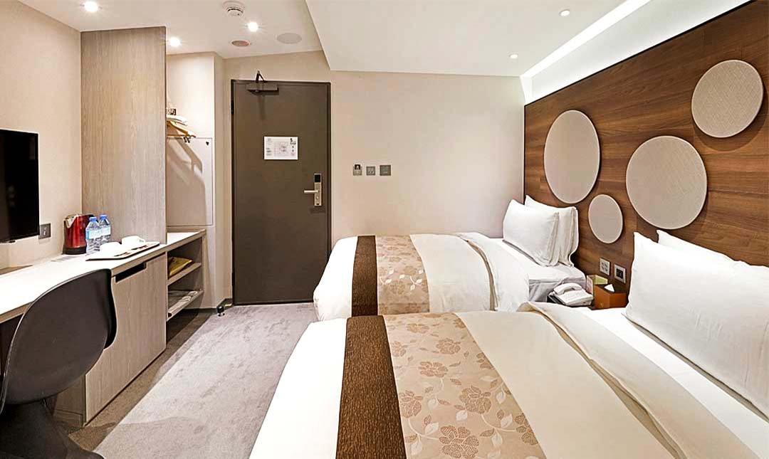 洛碁大飯店 松山館-標準雙人房 12h