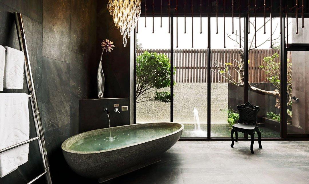 Mulan Villa Spa Motel Taichung-Double Room 3h