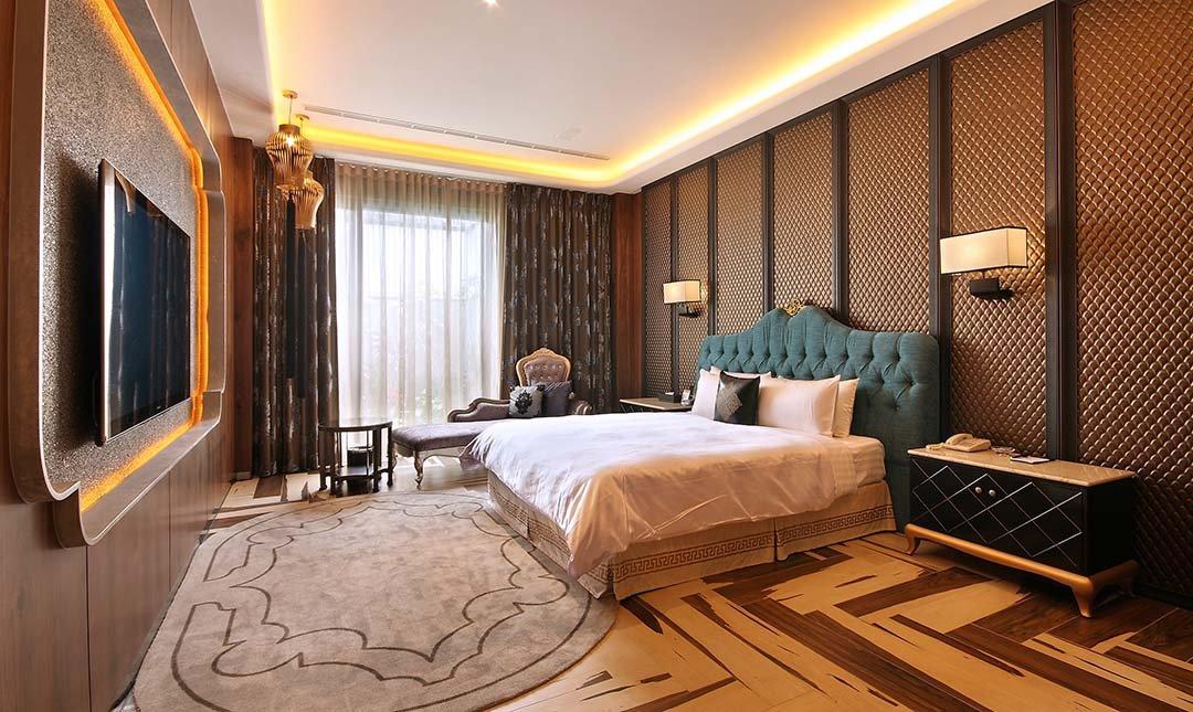 Mulan Villa Spa Motel Taichung-Double Room