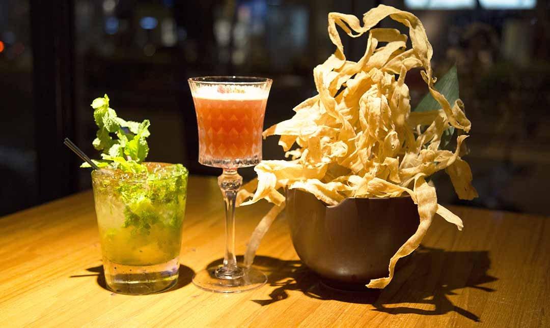 ICHI 信義安和站-客製調酒 2 杯 + 酥炸牛蒡