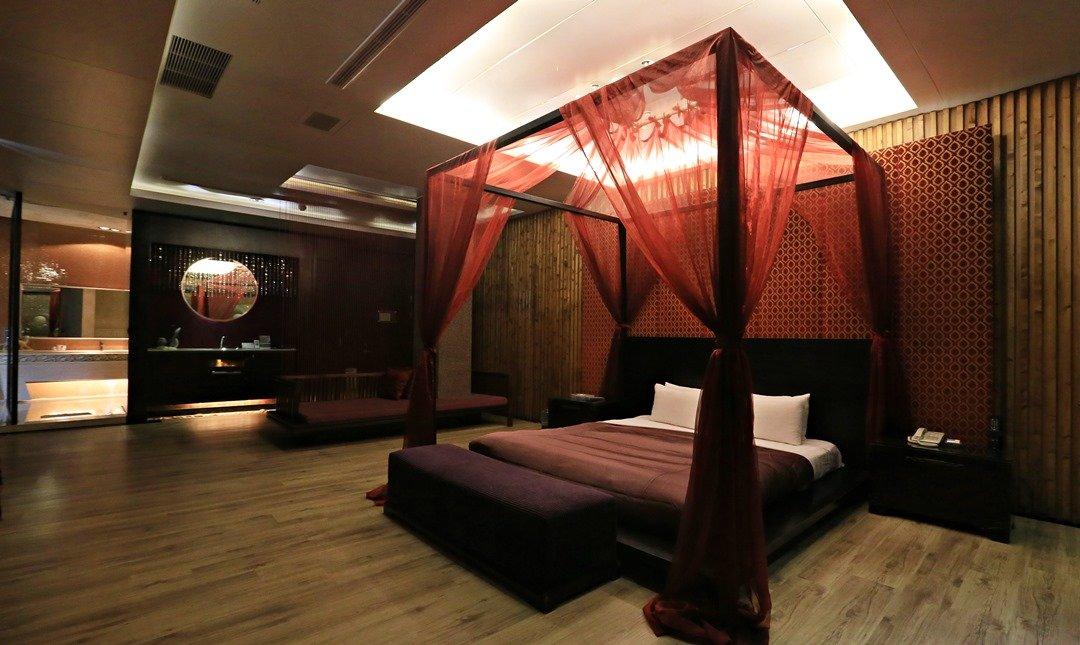 Mulan Villa Spa Motel Taichung-Late Birds|Double Room