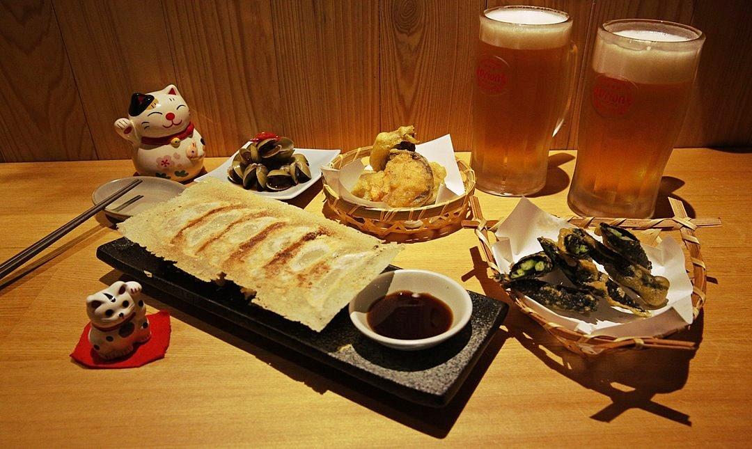 有喜屋日式煎餃居酒屋-雙人微醺夜:特色煎餃+日式炸物+生啤