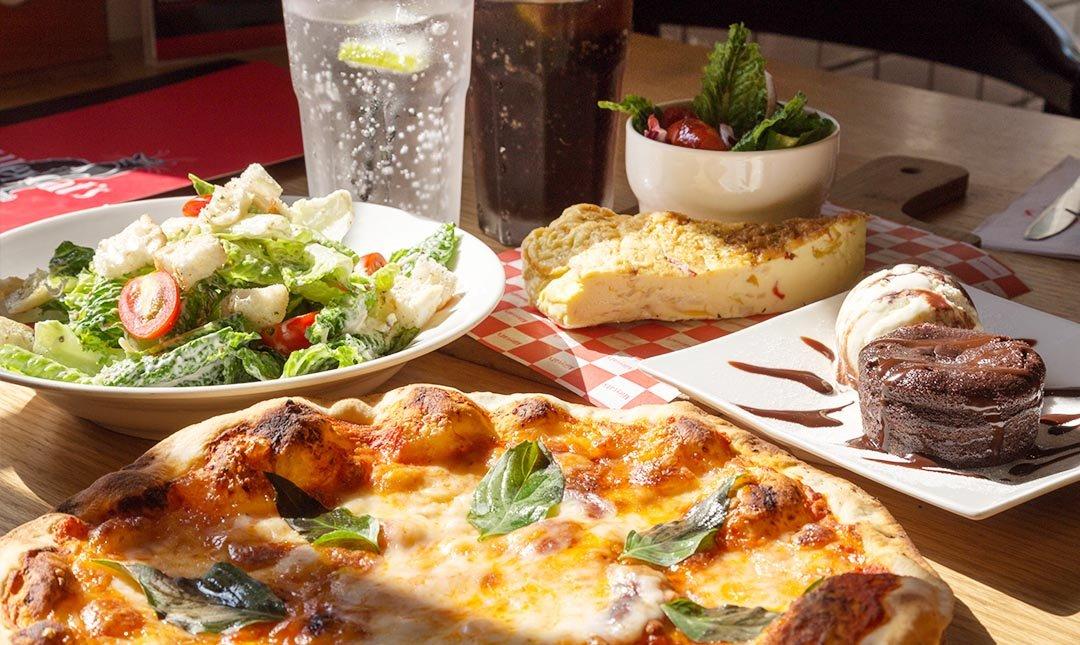 Alleycat's Pizza 華山店-豪華雙人套餐|週一再贈甜點