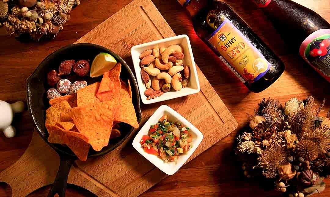 兔卡蕾餐酒館 Osteria Toccare-精釀啤酒 2 杯 + 牛筋 + 玉米脆片