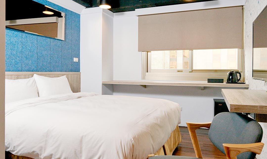 台北旅坊-標準雙人房 (一大床)