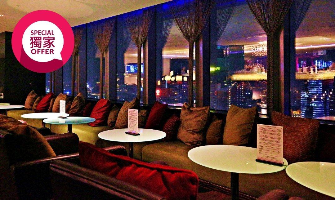 忘廊-台中亞緻大飯店 29 樓-星空約會:爵士調酒 2 杯任選