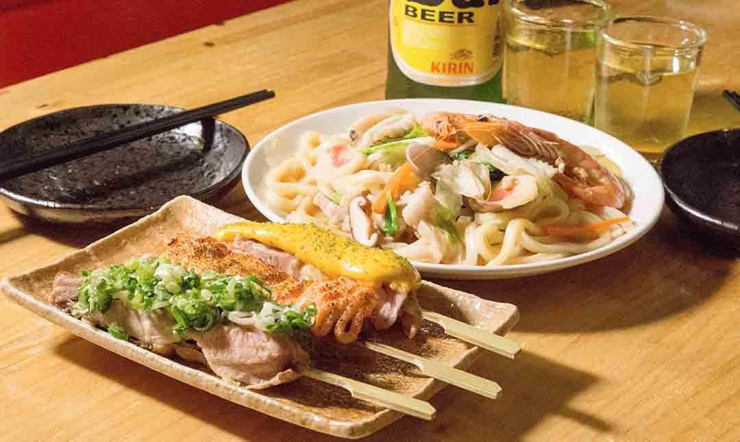 酌燒串燒酒食-深夜飛鏢食堂   雙人套餐