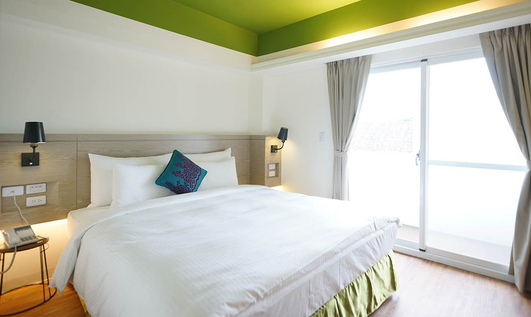 陽光士林珮柏旅館-PAPER 房型|一大床