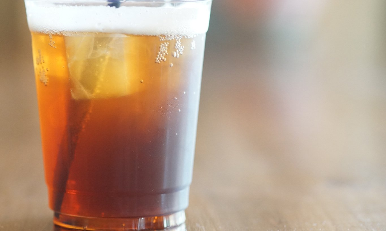 玉城自家烘焙咖啡-獨家手沖氣泡咖啡外帶杯(冰)