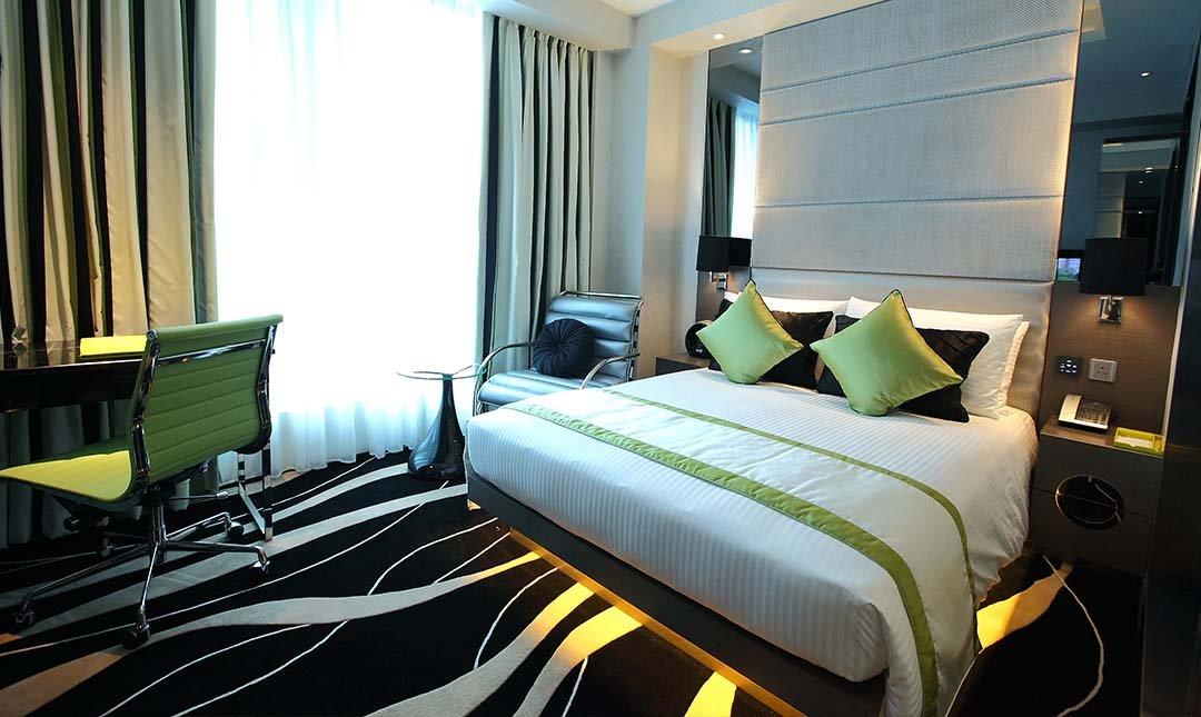 Hotel Madera Hong Kong-豪華大床客房 2h