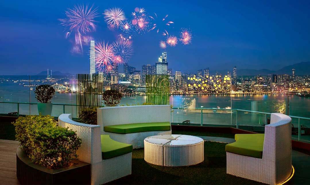 香港柏寧酒店-[單人·站位]空中花園煙火派對