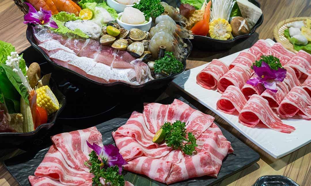 鍋台銘 x 黑毛和牛頂級鍋物-雙人最豐盛鍋物 | 贈 6 oz肉品