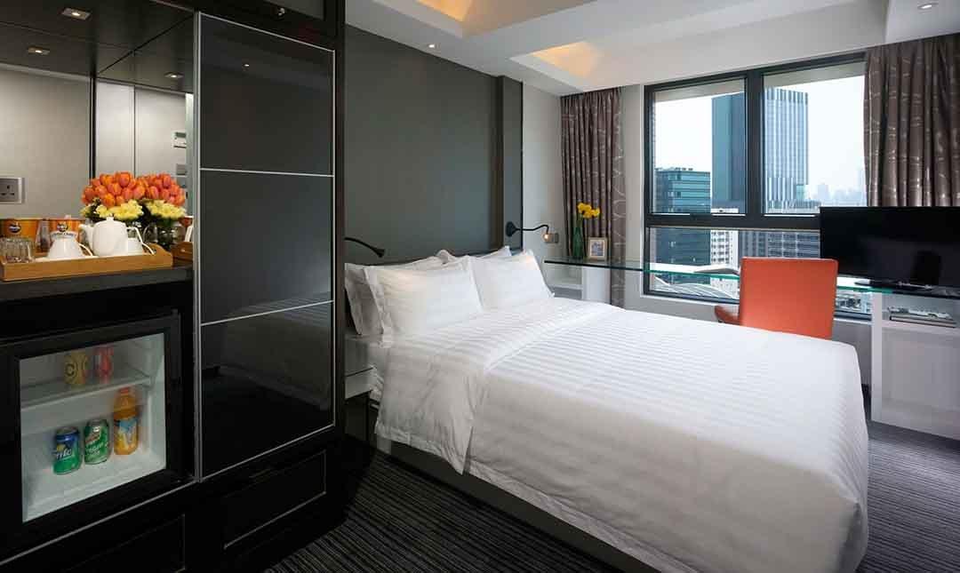香港珀薈酒店-高級客房