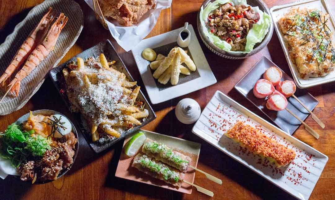 技固帕串燒酒家-深夜好味食堂   日式雙人套餐