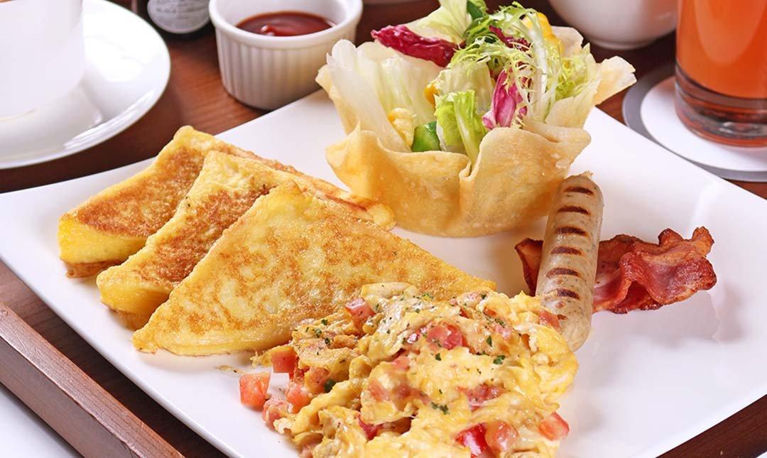 台北怡亨五星酒店-歐式早午餐 贈現打果汁